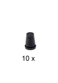 Gummiprop 8mm. Pakke med 10 stk.