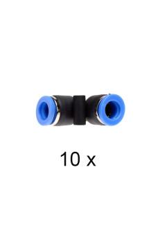 Push-in Vinkel 8mm. Pakke med 10 stk.