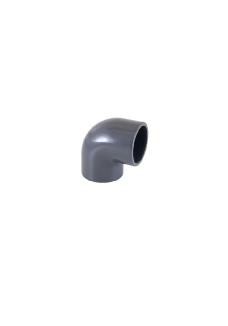 PVC vinkel 90 gr. ø50mm