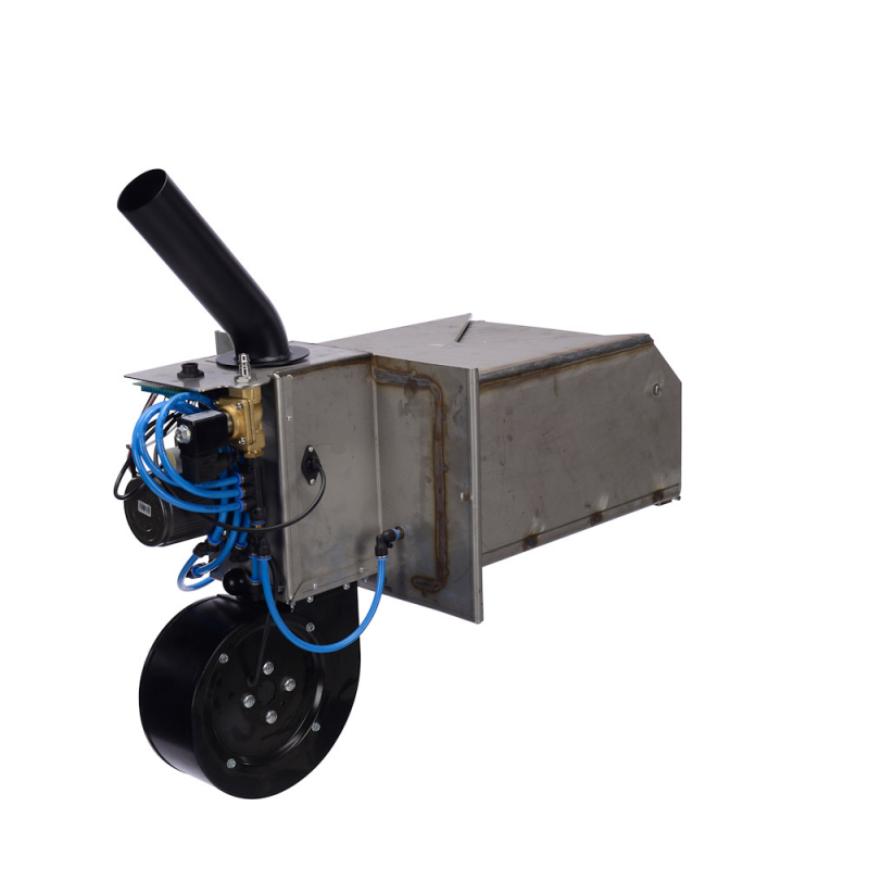 Træpillefyr 200 kW