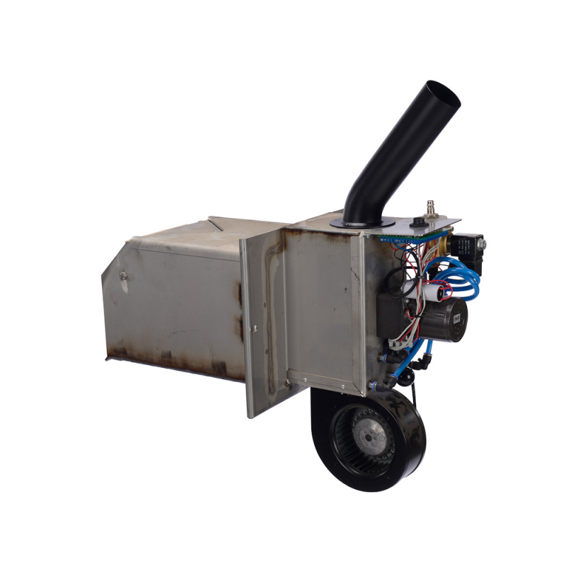 Træpillefyr 80 kW