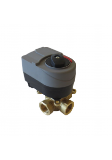 "3 ways motorized valve for weather compensation 3/4"" new model"