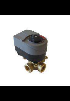 "3 ways motorized valve for weather compensation 1"" new model"