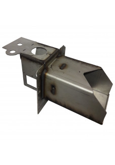 Burner head 30kW with two-way fan assembly