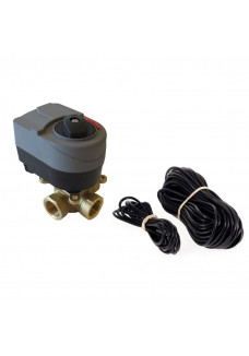 "NBE 3 ways motorized valve for weather compensation 1"" KIT"