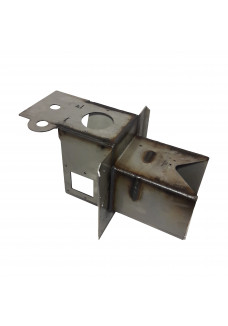 Burner head 10kW with two-way fan assembly