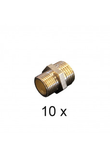 "3/8"" to 1/2"" union nipple. Package of 10 pcs"