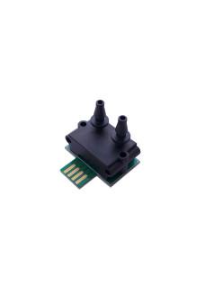 Underpressure sensor for exhaust fan regulation