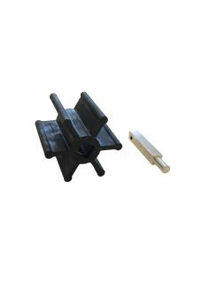 Rotary valve wheel for Vakuum transport