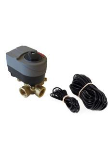 "NBE 3 ways motorized valve for weather compensation 3/4"" KIT"